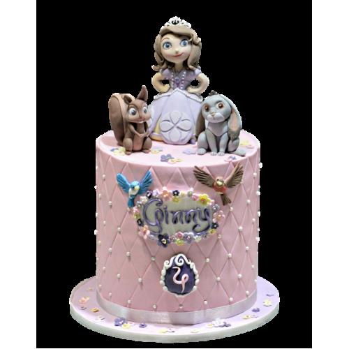 princess sofia cake 9 7