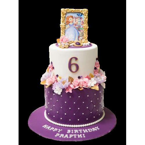 Sofia The First Cake 12