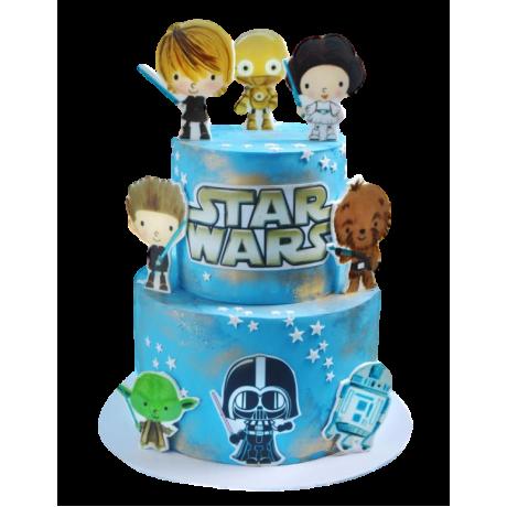 star wars cake 5 6