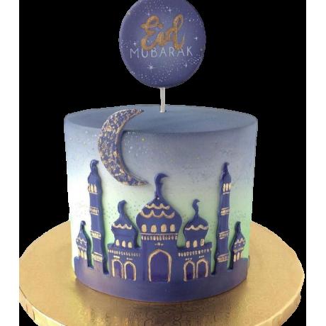 eid mubarak cake for ramadan 6
