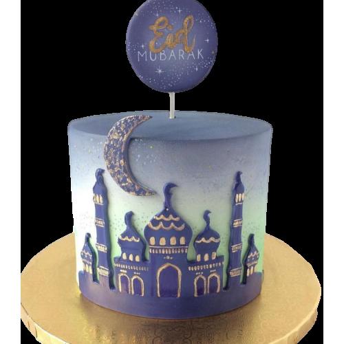 eid mubarak cake for ramadan 7