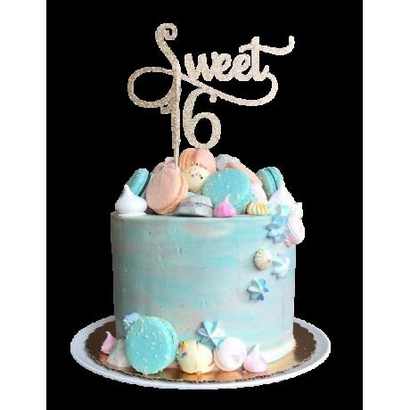 sweet 16 cake 2 6
