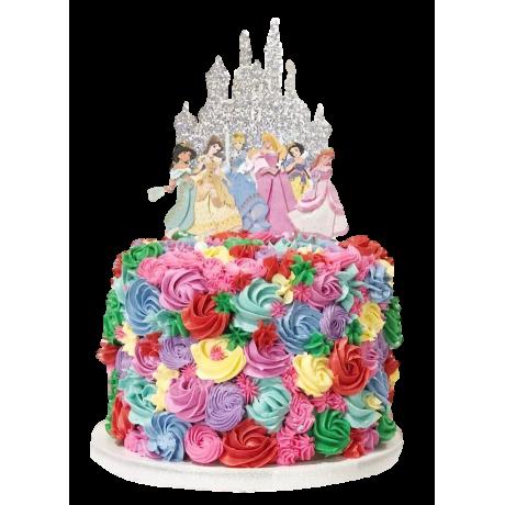disney princesses cake 7 6