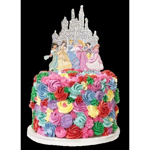 disney princesses cake 7 7