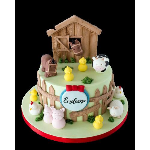 farm animals cake 11 7