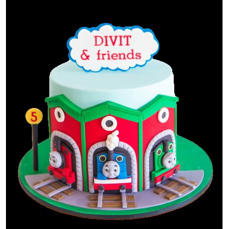 first birthday cake thomas tank 6