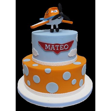 dusty plane cake 1 6