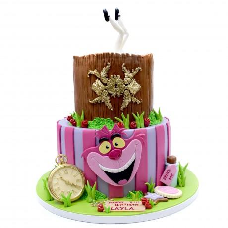 alice in wonderland cake 6
