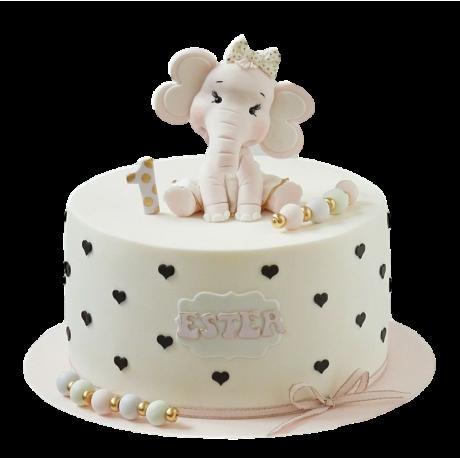 baby girl cake 4 6