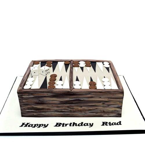 backgammon cake 2 7