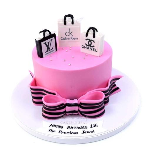 born to shop cake 5 7
