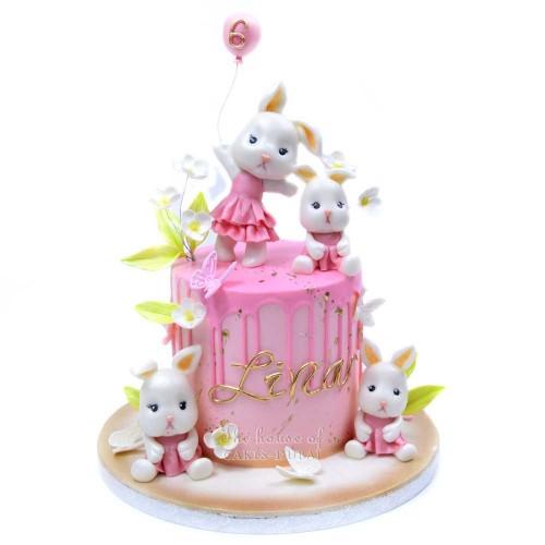 bunny rabbits cake 2 7