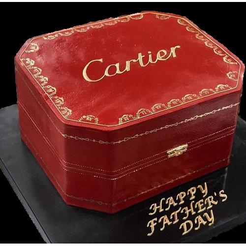 cartier box cake 2 7