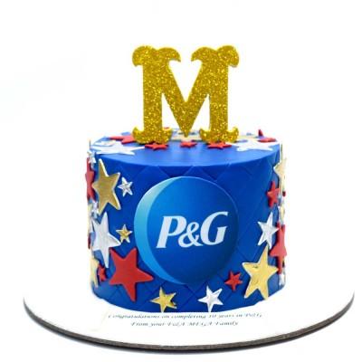 P & G Cake