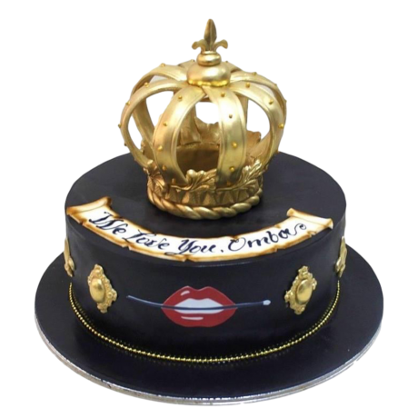 crown cake 25 12