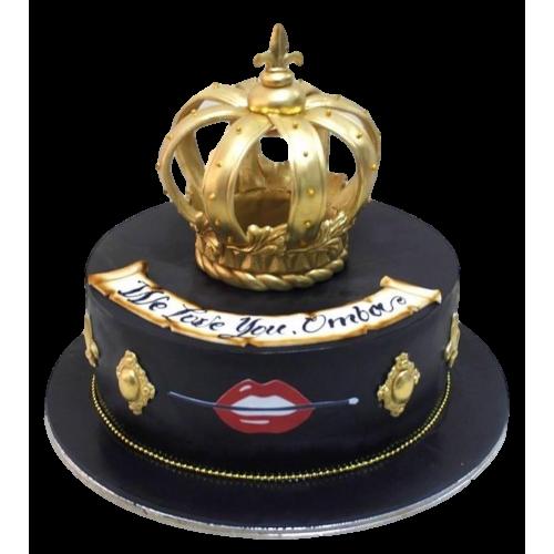 crown cake 25 13