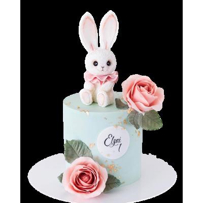 Cute bunny cake 1