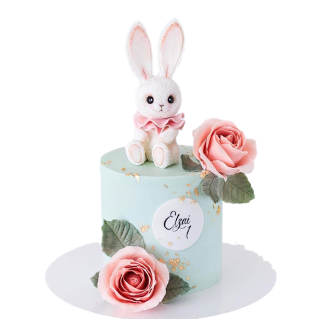 cute bunny cake 1 6