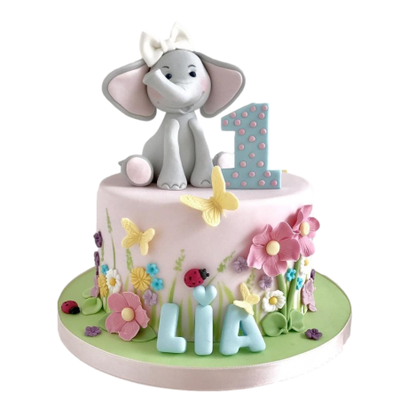 cute elephant cake 2 6