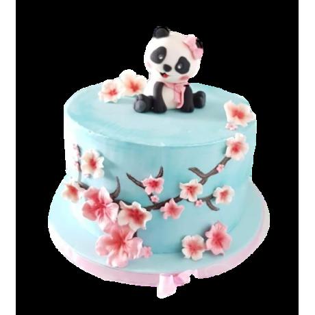 cute panda cake 6