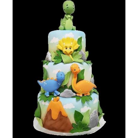 dinosaur cake 7 6