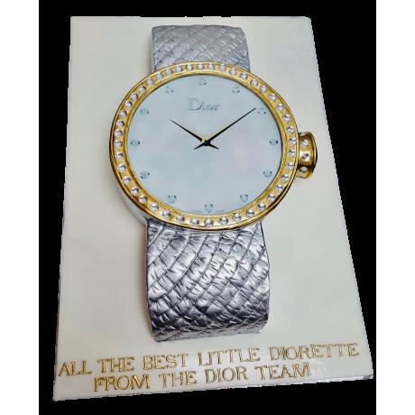 dior watch cake 6