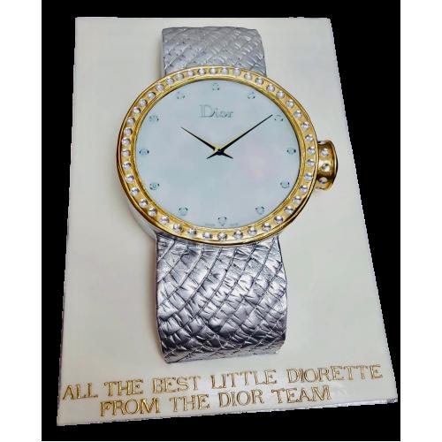 dior watch cake 7
