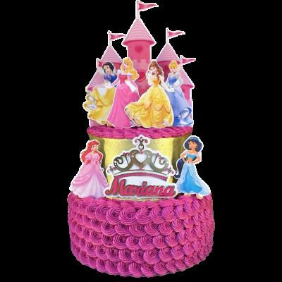Princesses cake 22