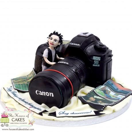 canon camera cake 5 6