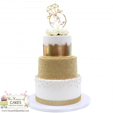 engagement ring cake 1 6