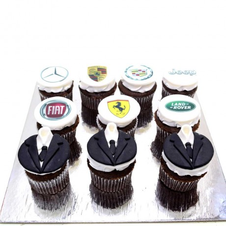assorted cupcakes with favorite things 6