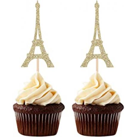 eiffel tower cupcakes 12