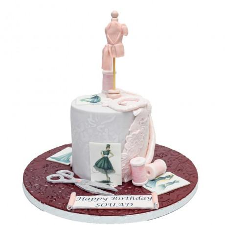 fashion designer cake 6