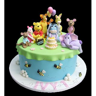 Winnie & Tigger Cake 12
