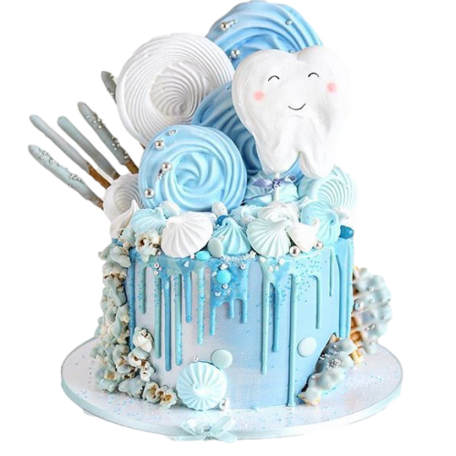 first tooth cake 2 7