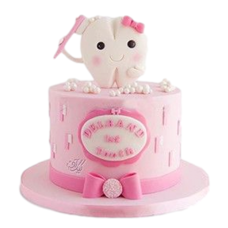 first tooth cake 6