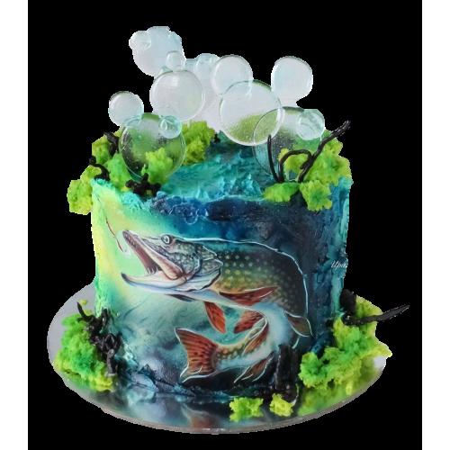fishing cake 4 7