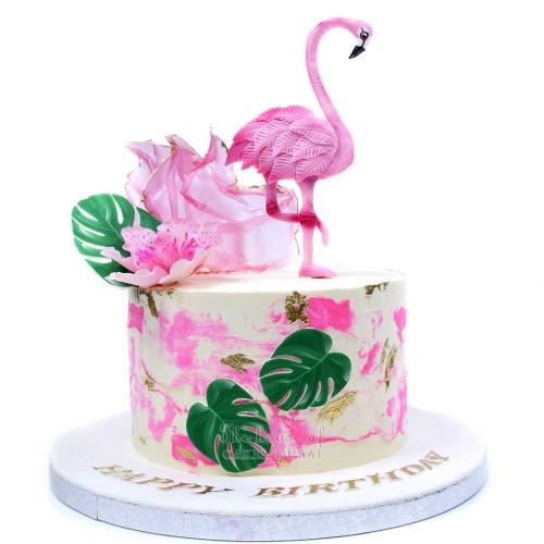 flamingo cake 1 7