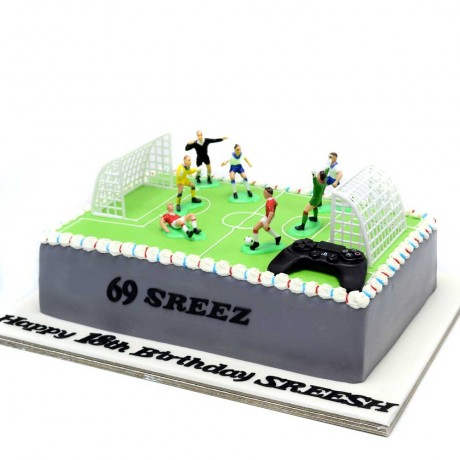 football cake 7 6