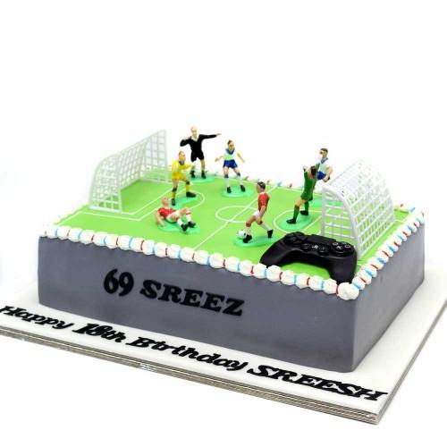 football cake 7 7
