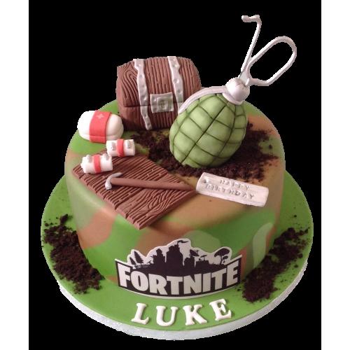 fortnite cake 1 7