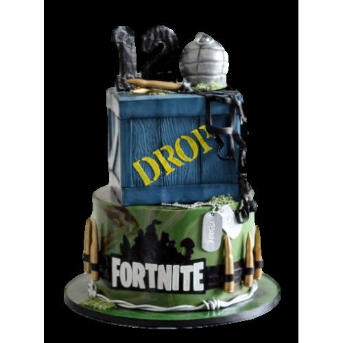 fortnite cake 12 7