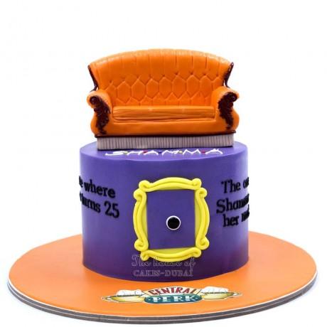 friends cake 4 6
