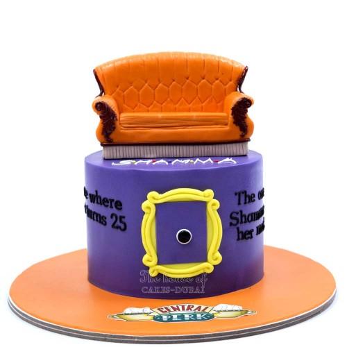 friends cake 4 7