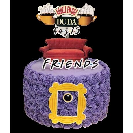 friends coach cake 6