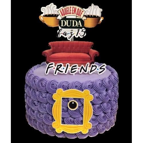 friends coach cake 7