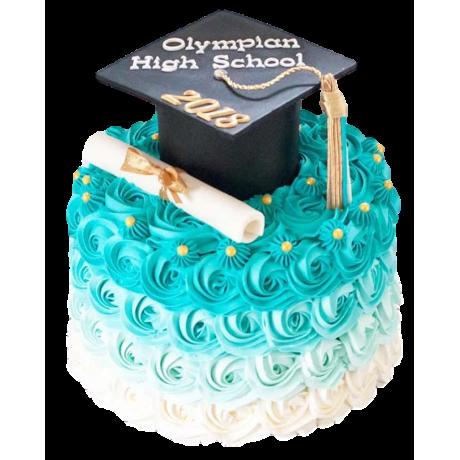 graduation cake 36 6