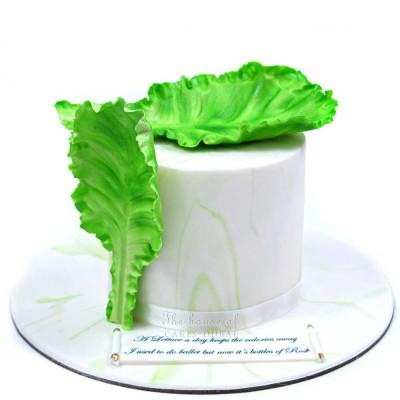 Lettuce cake