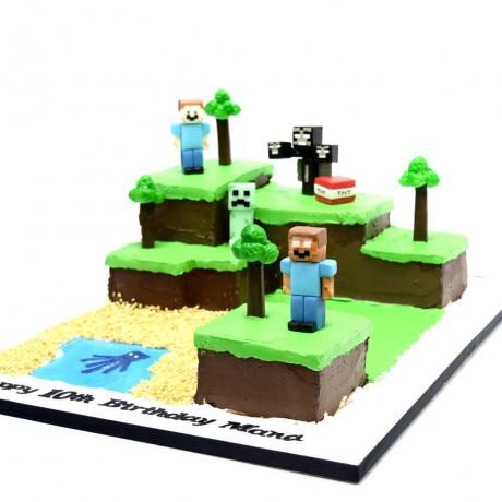 minecraft cake 20 6