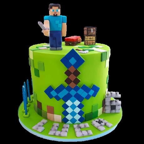 minecraft cake 6 6